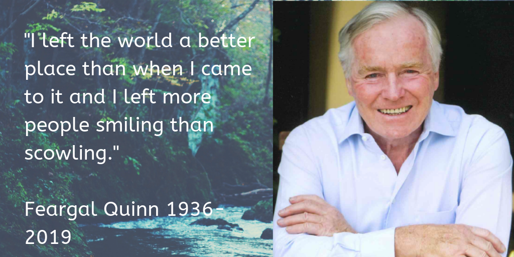Feargal Quinn's big regret revealed in one of his final interviews
